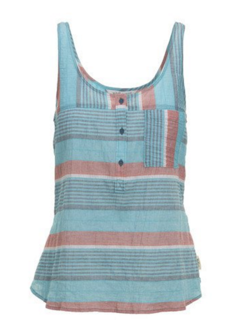 Woolrich Spring Fever Eco Rich Plaid Tank Top - Organic Cotton