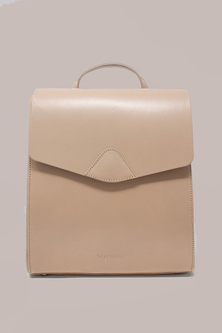 VereVerto Demi Macta Bag in Taupe