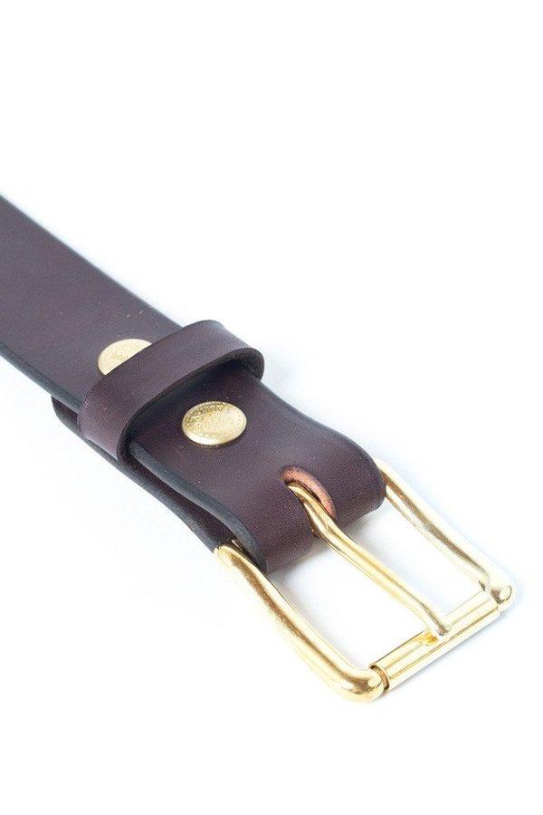 Wood&Faulk Standard Belt Brown