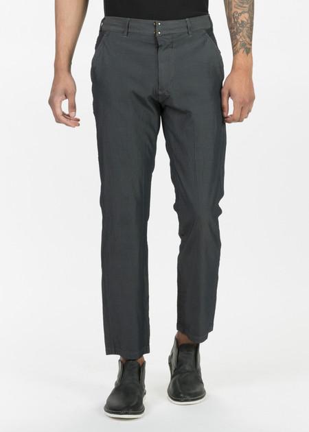 Sage de Cret Flat-Front Creased Trousers