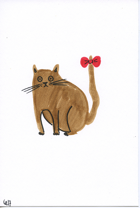 Camilla Engstrom Cute Cat