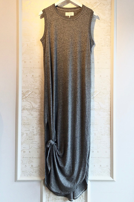 The Great Sleeveless Knotted Tee Dress
