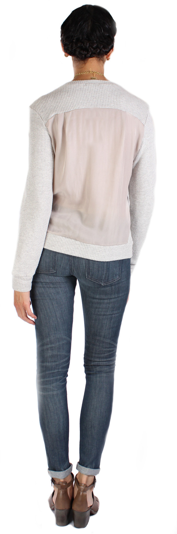 Clu Color Block Pullover