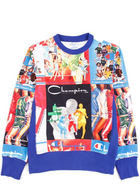 Champion Reverse Weave Limited Edition Print Sweatshirt