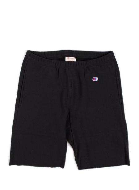 Champion Reverse Weave Sweat Shorts Black