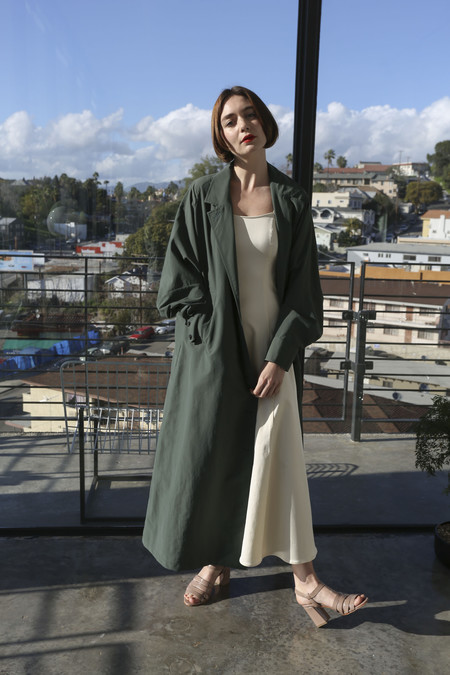Rachel Comey Kilo Trench in Military