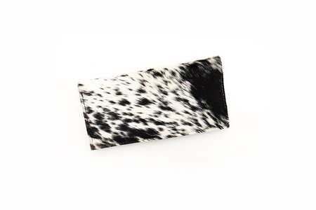 Primecut SALT AND PEPPER COWHIDE WALLET
