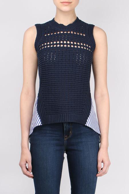 Veronica Beard Par Combo Sweater