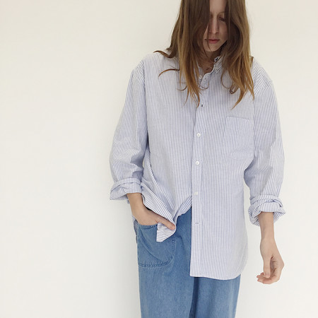 Johan Vintage Deconstructed Oxford Shirt