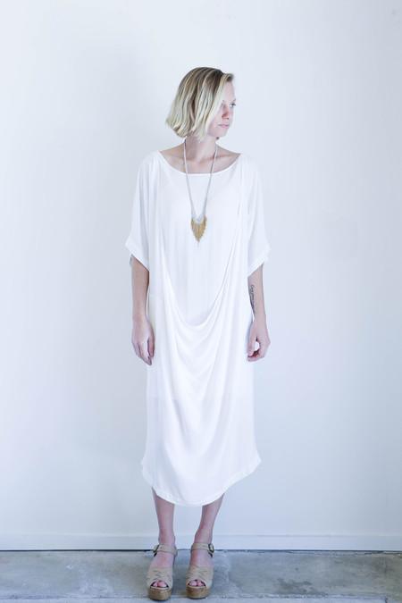 Shaina Mote Una Dress In Salt