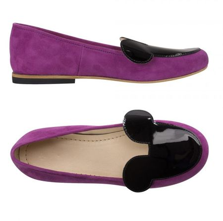 EFVVA Miss Mouse Fuchsia Shoes