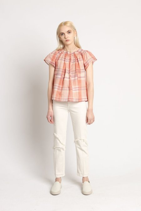 Ulla Johnson Rose Pink Amania Top