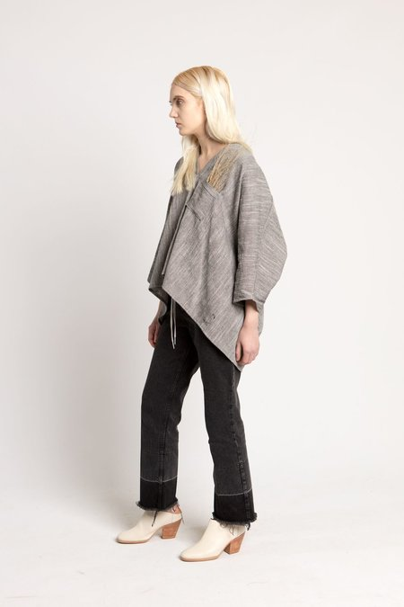 Hackwith Design House Grey Paige Top