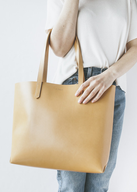 The Stowe  Mini Katie Tote in Honey