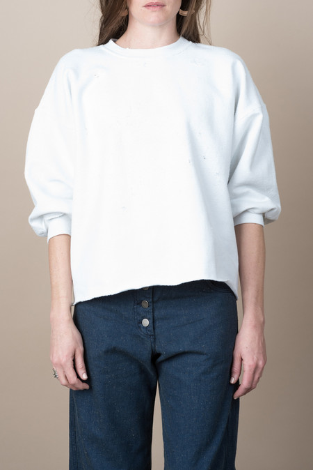 Rachel Comey Fond Sweatshirt In Dirty White