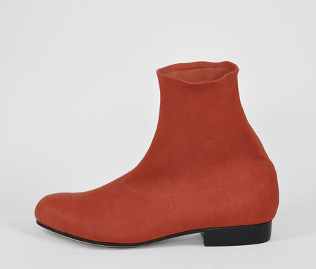 The Palatines Shoes firmo stretch boot - cadmium leather
