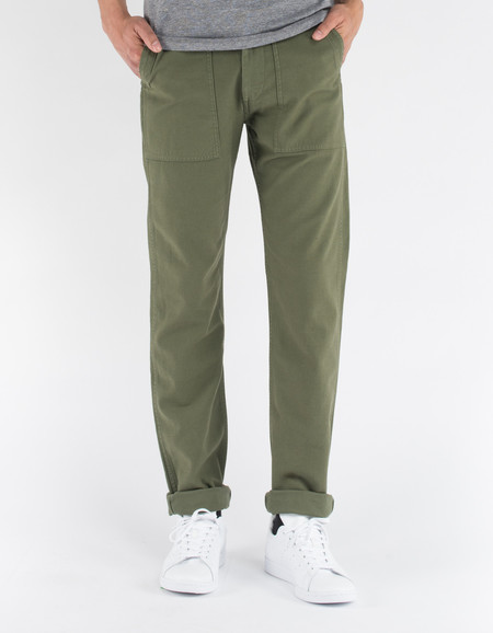 Tellason Fatigue Pant Olive Sateen