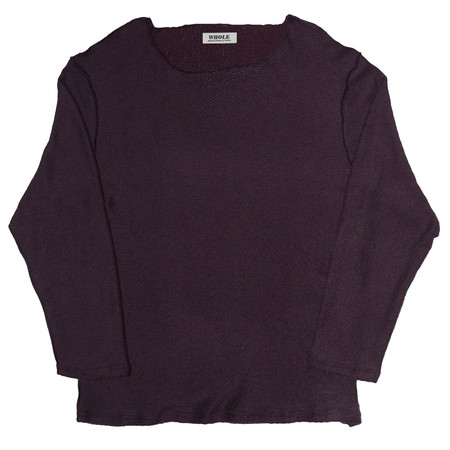 WHOLE FRENCHIE (sweater - plum)