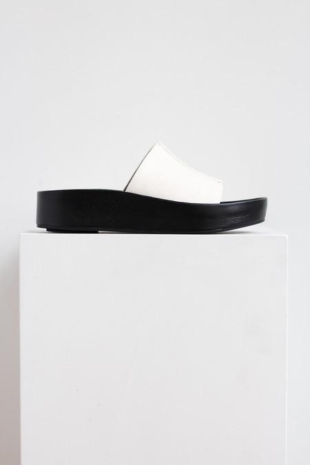 Sol Sana Anika platform sandal in white