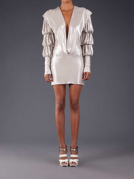 Julia Clancey Silver Grace Dress