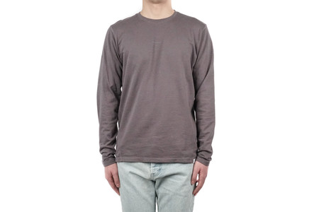 Norse Projects JAMES DRY COTTON LS - BROKEN GREY