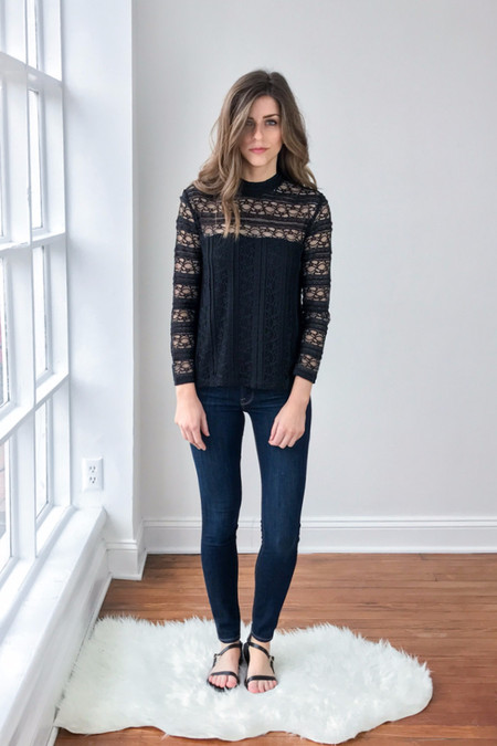 Samsoe Samsoe Florence Long Sleeve Top