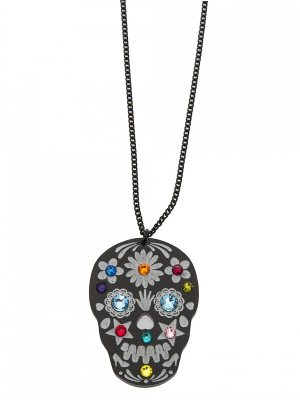 Tatty Devine Skull Candy Necklace