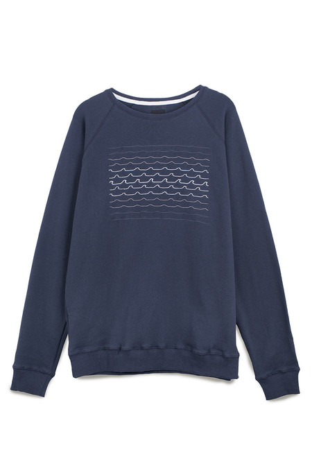 Pleasant Tidal Waves Sweat in Navy