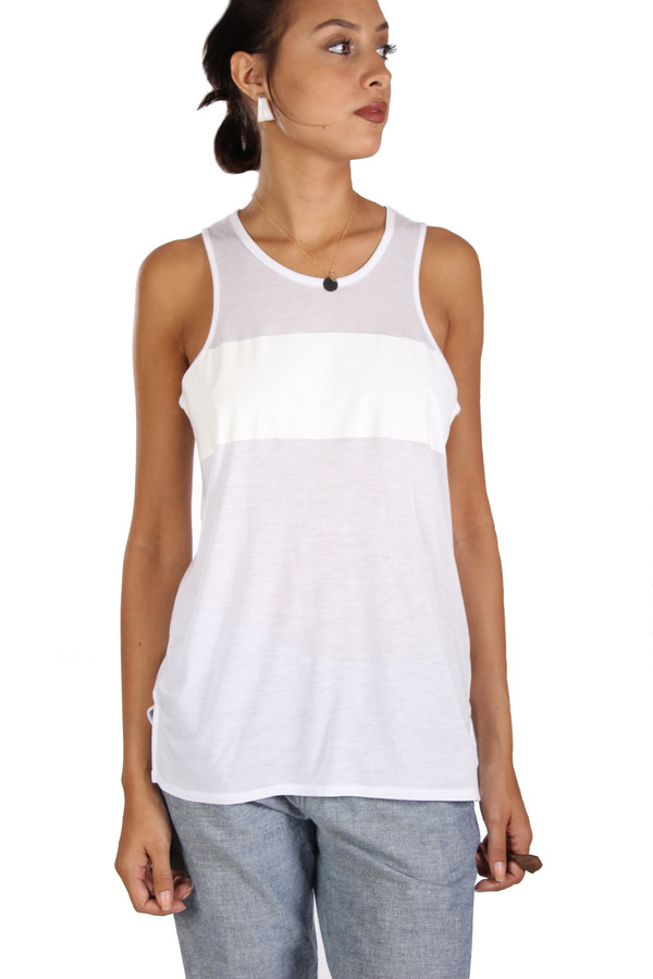 Rag & Bone Hollins Tank with Stripe