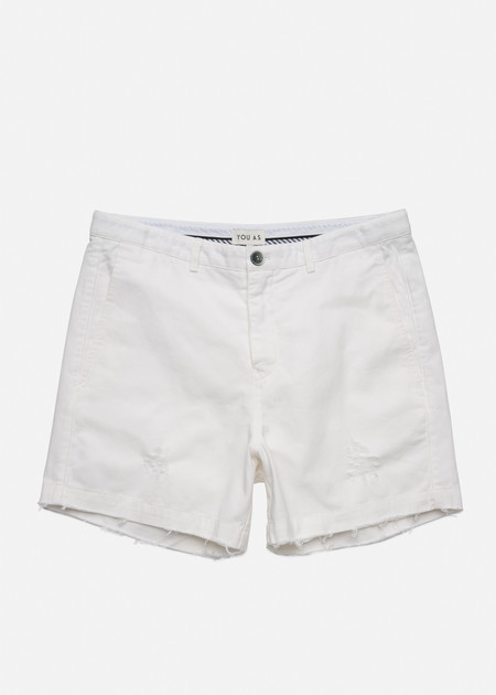 YOU AS Errol Shorts in White