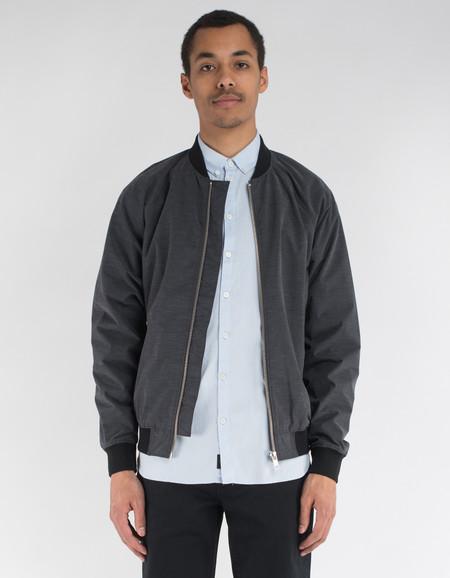 Minimum Starego Outerwear Dark Grey Melange