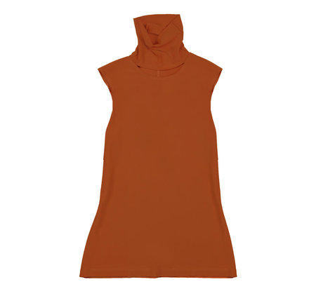 VINCETTA Cutout Turtleneck