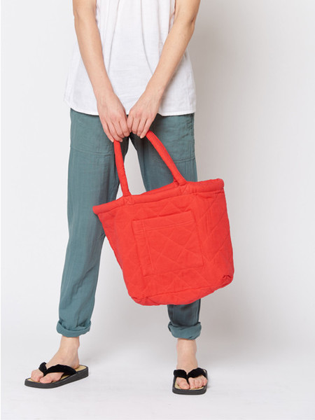 Built by Wendy Padded Tote - Poppy