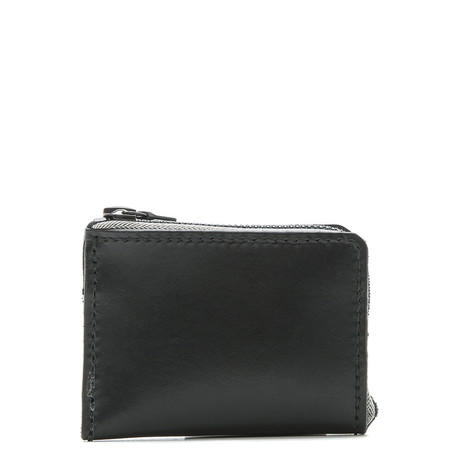 ALTERIOR HALF ZIP WALLET - BLACK