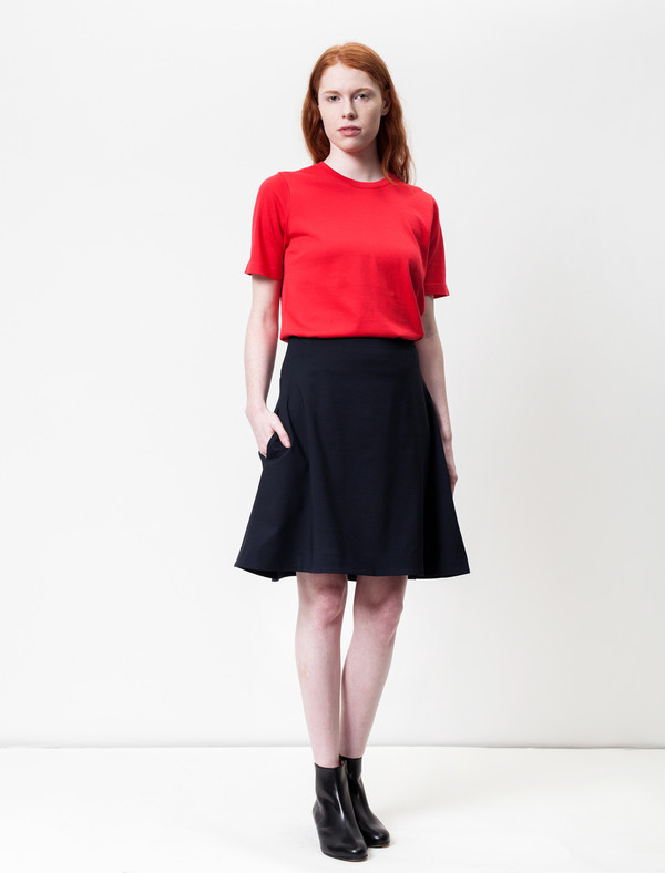 Derek Lam 10 Crosby Piana Wool Skirt