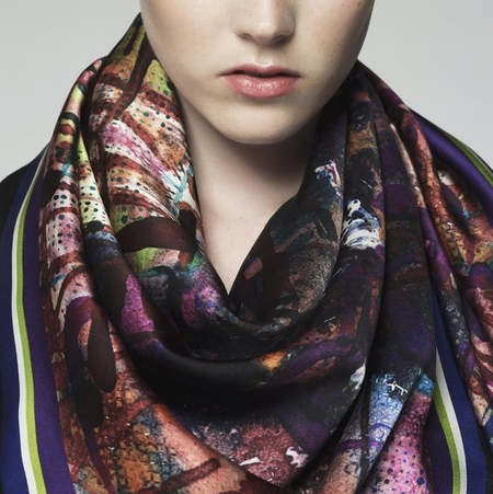 Anu Raina 'Burano' scarf
