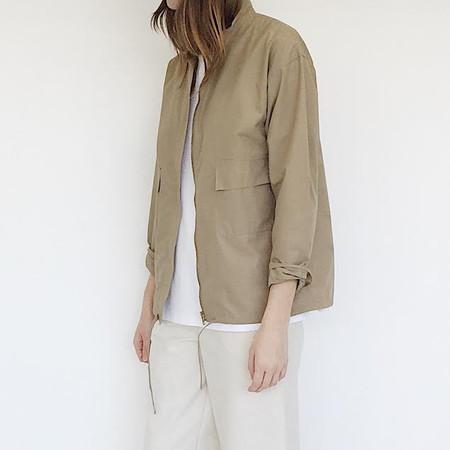 Johan Vintage Khaki Cotton Jacket