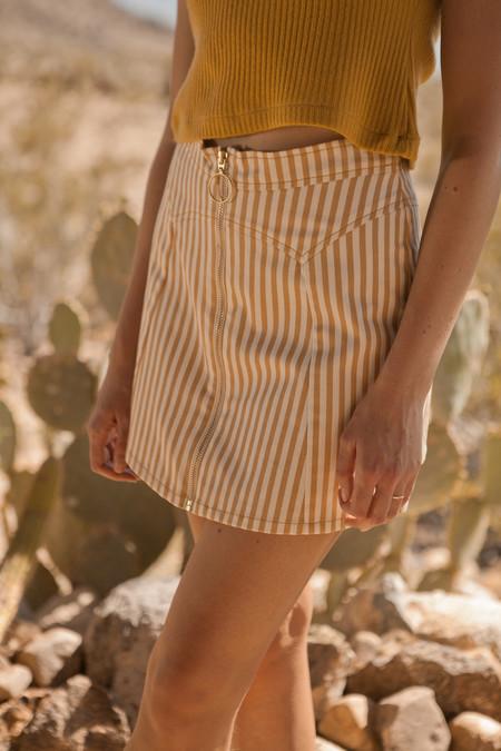 Lykke Wullf Monica Zip Up Skirt