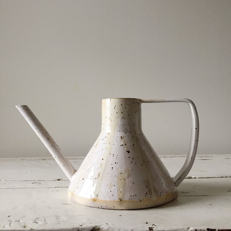 Lucy Pelletier Speckled Watering Pitcher