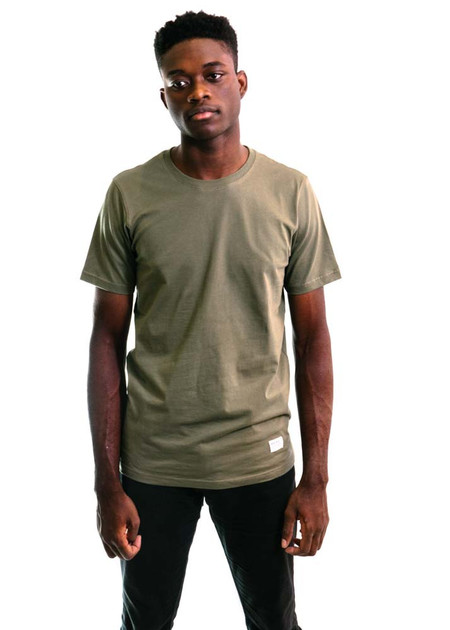 Norse Projects Niels Basic SS - Dried Olive
