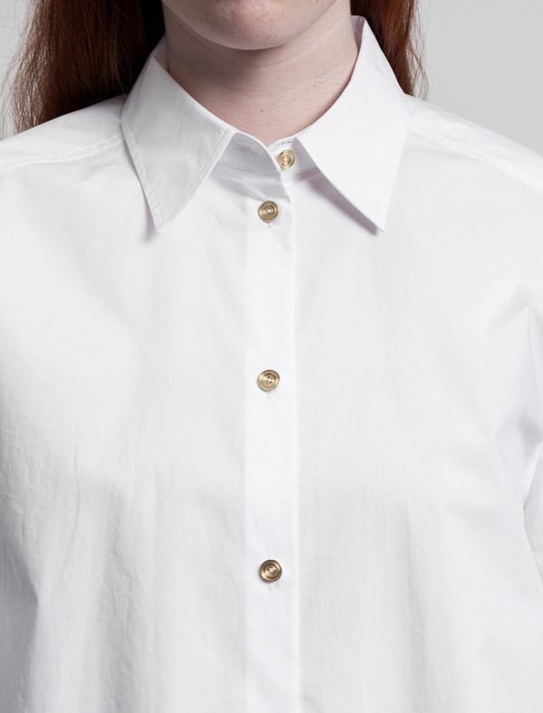 Acne Addle Shirt Optic White