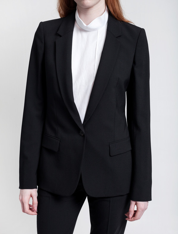 Acne Studios Single Bi Stretch Jacket Black