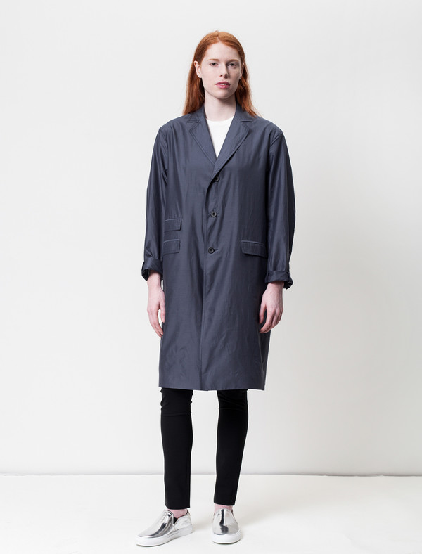 Unisex 1205 Featherweight Silk Covert Coat