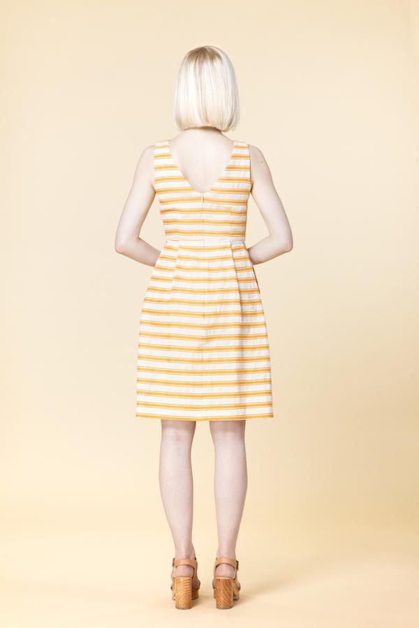 Amanda Moss - Tangerine Dress