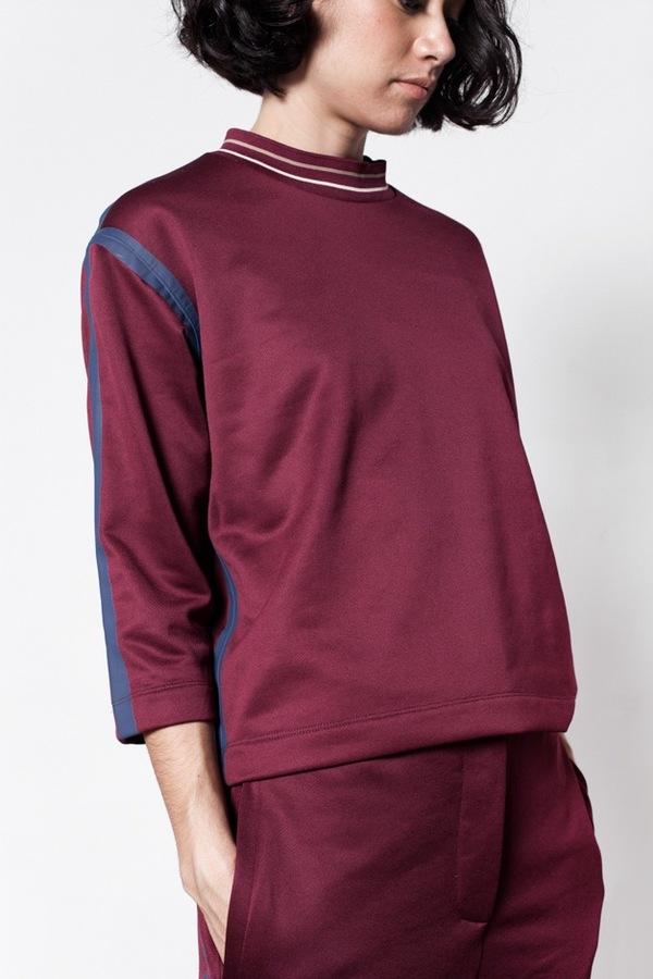 Wood Wood Hope Sweatshirt - Burgundy