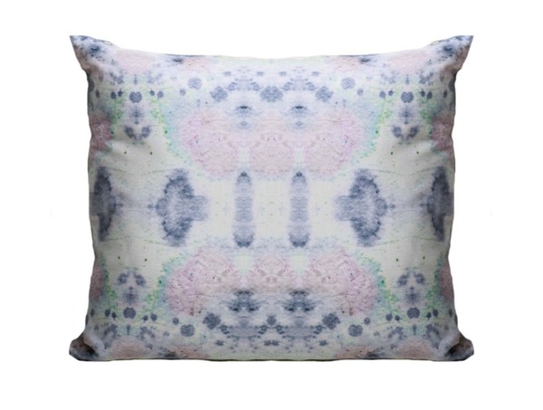 "Eskayel Species Print Pillow in Hide 18""x18"""