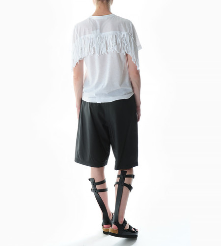 Sacai Luck Fringe Back T-shirt