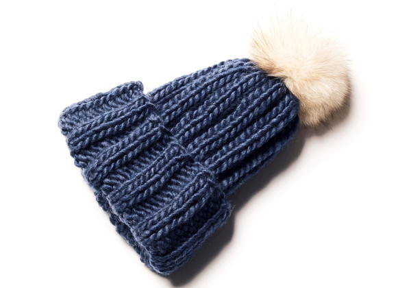 Headmistress, Knit Toque, Blue (sold out)