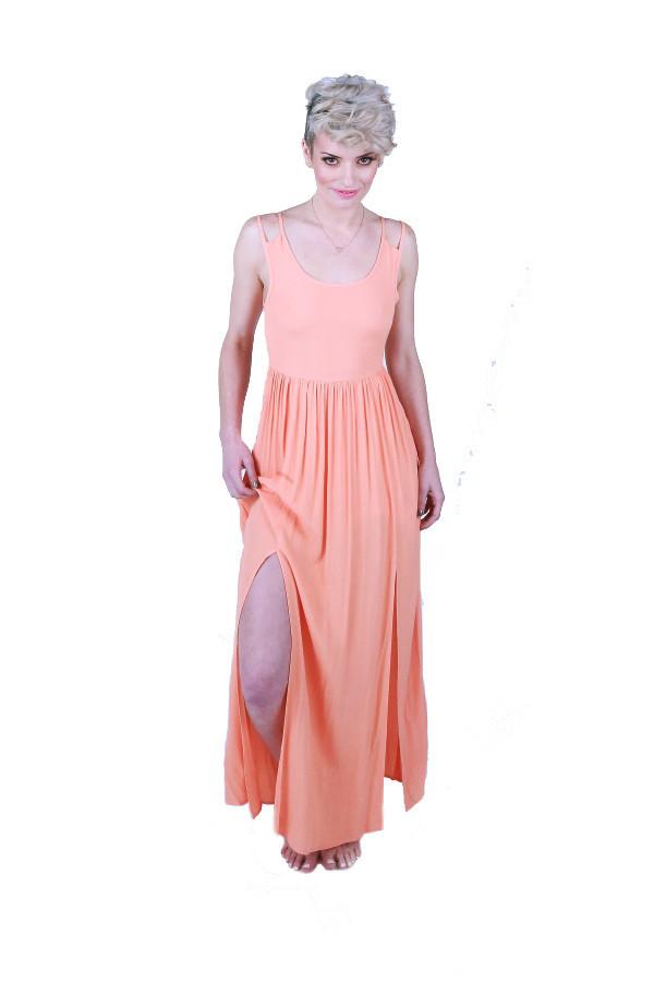 Mink Pink Shadow Play Maxi Dress