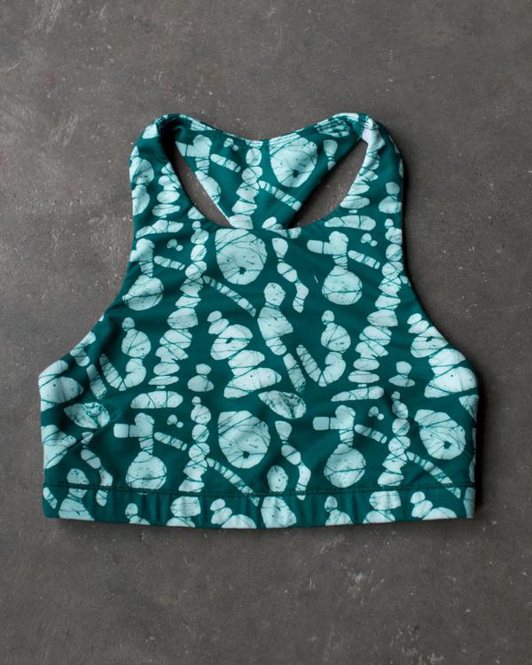 Osei-Duro x the lab Cassava Bra   Pebble Print